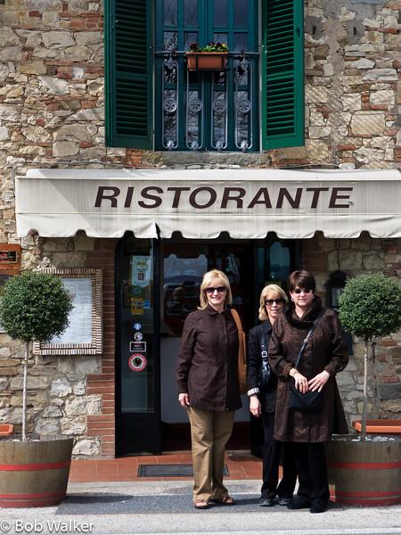 An excellent restaurant in Radda in Chianti