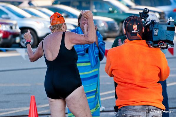 2012-09-23 Great Ohio Swim - A 68 Year Old Woman's Triumph