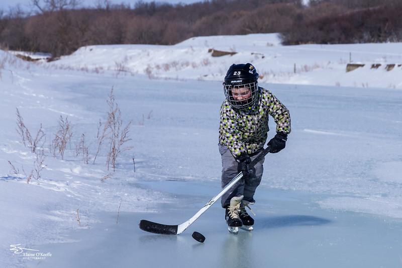 Let's play hockey!