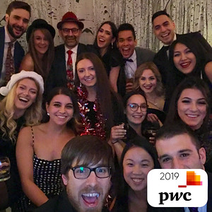 PWC Christmas Party 2019