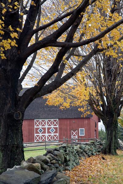 Old barn, Ambler Farm, Town of Wilton, CT, USA