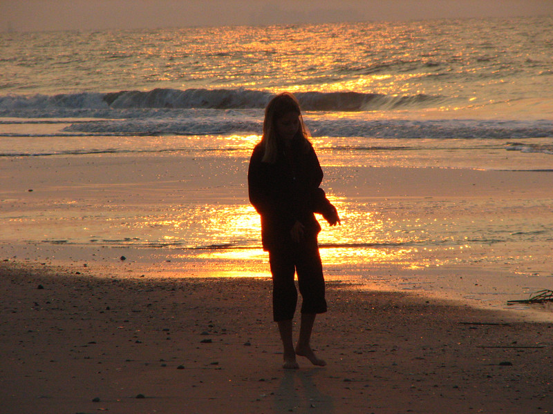 Sunrise stroll