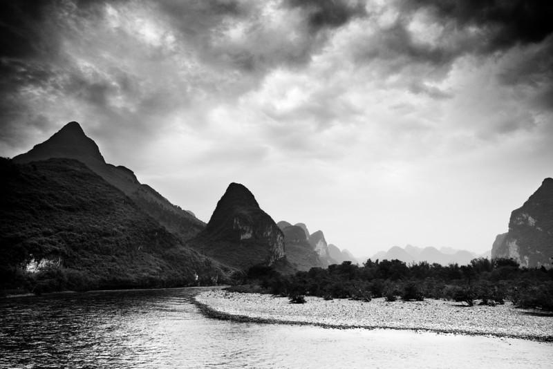 Li River Guilin, China — April 2010