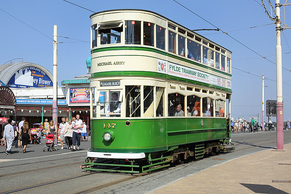 26th August 2013: Blackpool Tramway
