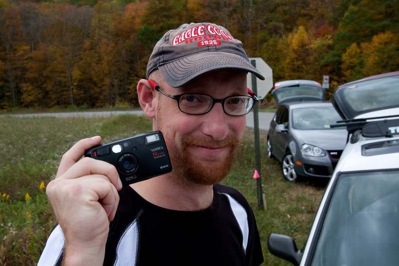 Matt never seems to take the same camera more than once on our camping trips. Here is his latest toy.