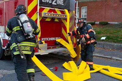 3 Alarm Building Fire - 7 Beekman St, Fitchburg, MA - 9/22/19