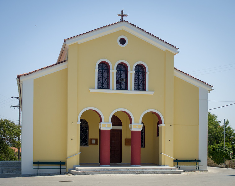 The church separate from its tower