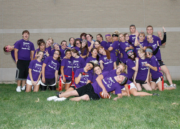 SNHS Football vs Powderpuff 2010