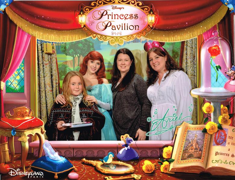 Meeting Ariel at The Princess Pavillion, Disneyland Paris