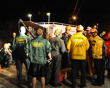 Canyon IC (LACoFD and Malibu Search and Rescue)