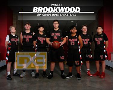 Brookwood JH boys' basketball BBB1819