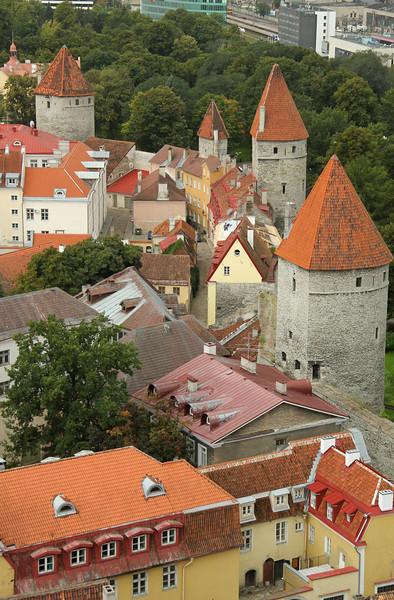 Town Wall towers -Tallinn, Estonia