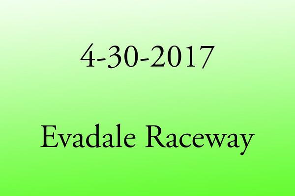 4-30-2017 Evadale Raceway 'No Prep Street Series'
