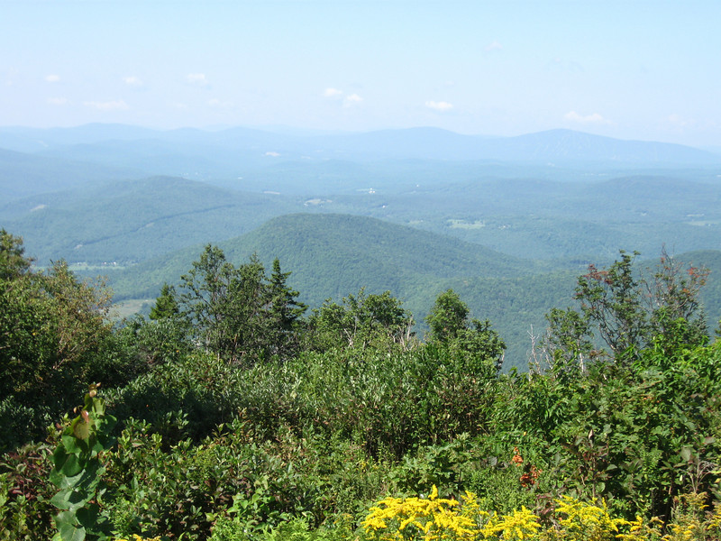 Views from the top of Mt. Ascutney.