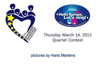 2013-0314 EBC2013 Quartet Contest (by Hans)