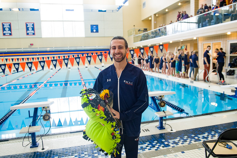 Macalester College Swimming Seniors