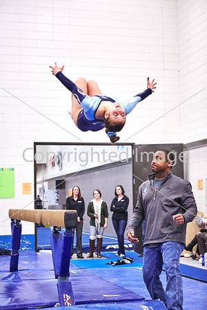 2016-01-28 Jefferson/Kennedy Gymnastics vs Lakeville North
