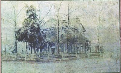 Old El Dorado Map & First Court House