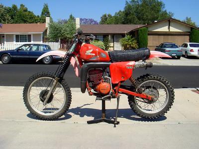 1978 CR250 Elsinore