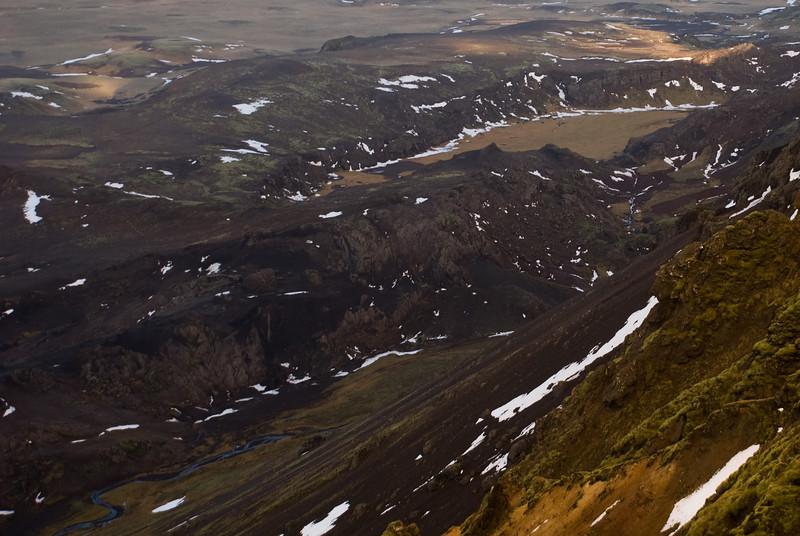 Horft yfir að Marardal