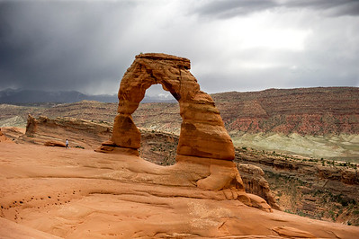 Arches : Watch out for Thunderstorms!