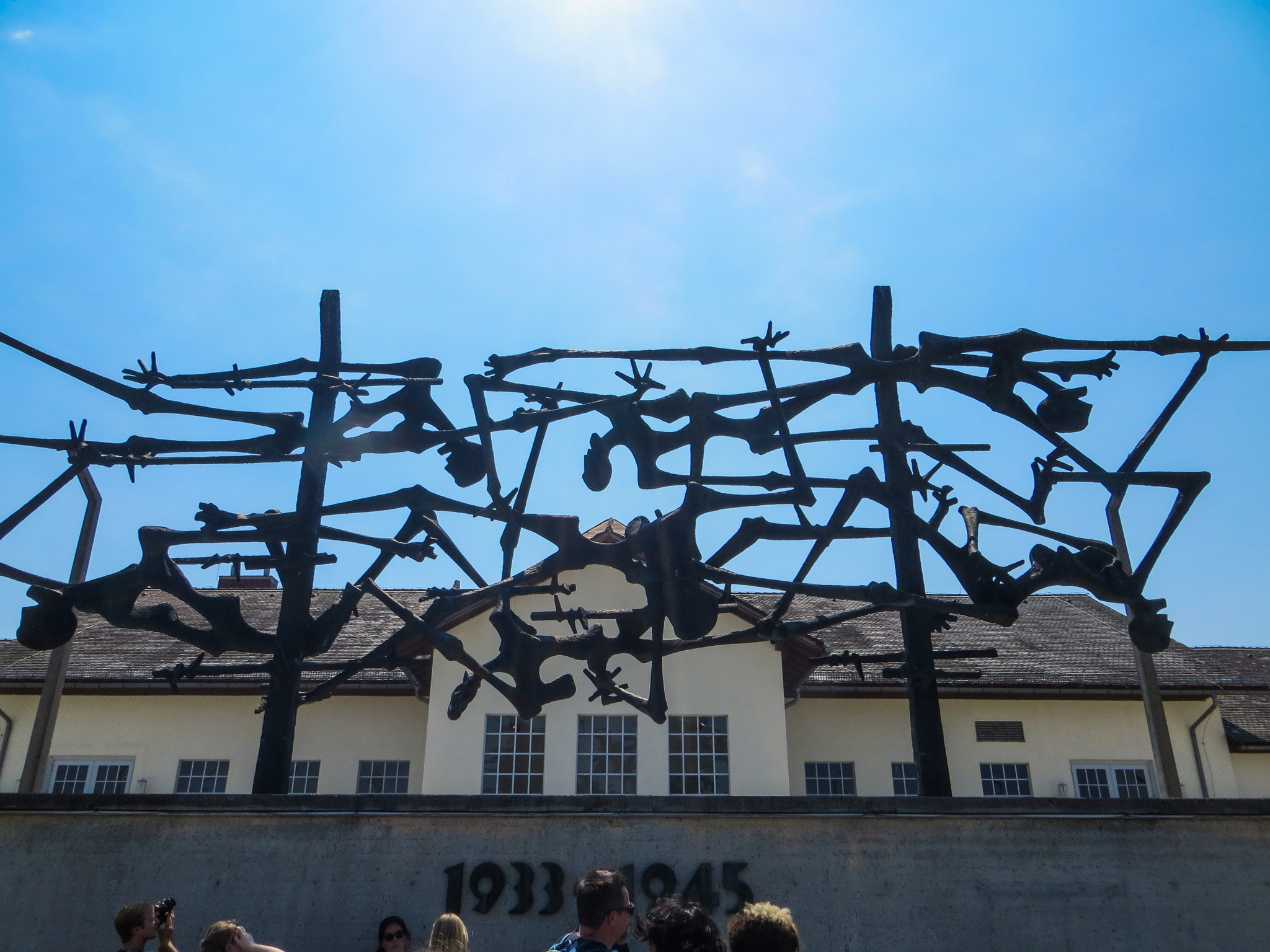 getting to dachau from munich isn't too challenging