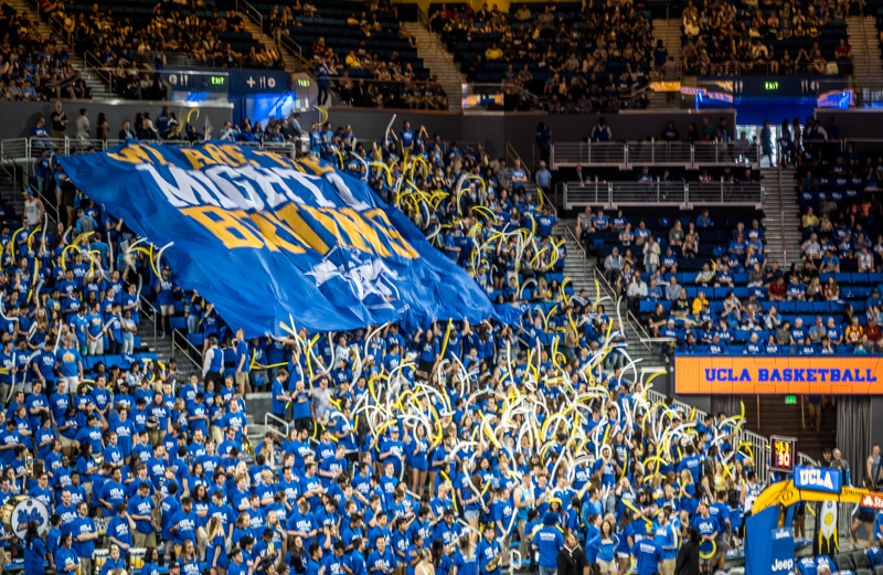 """February 3 - """"We are the Mighty BRUINS,"""" triumphant evermore over the trojans, 82-79!.jpg"""