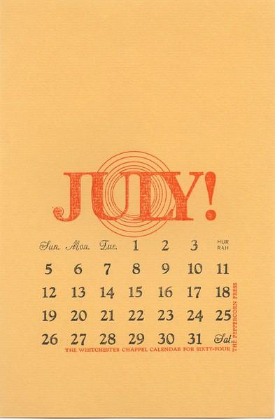 July, 1964, Peppercorn Press