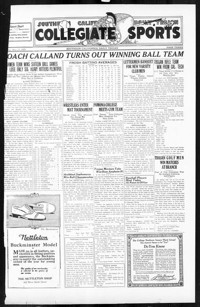 Daily Trojan, Vol. 16, No. 103, May 12, 1925