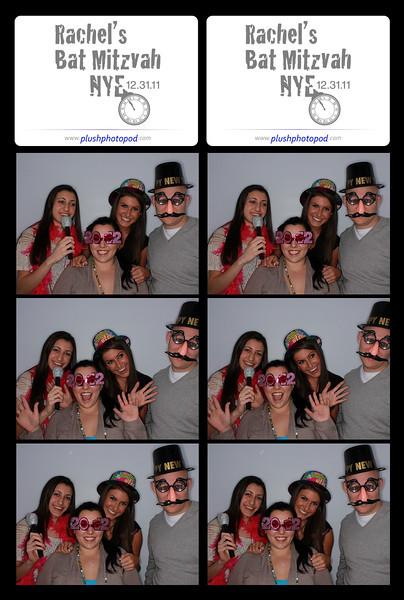Rachel's Bat Mitzvah NYE 2012