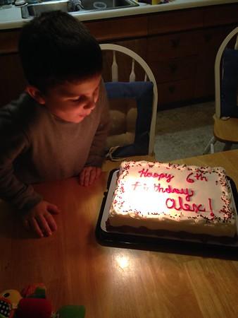 Alex's 6th Birthday
