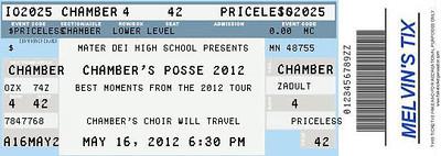 Chambers 2012 Memories Tour