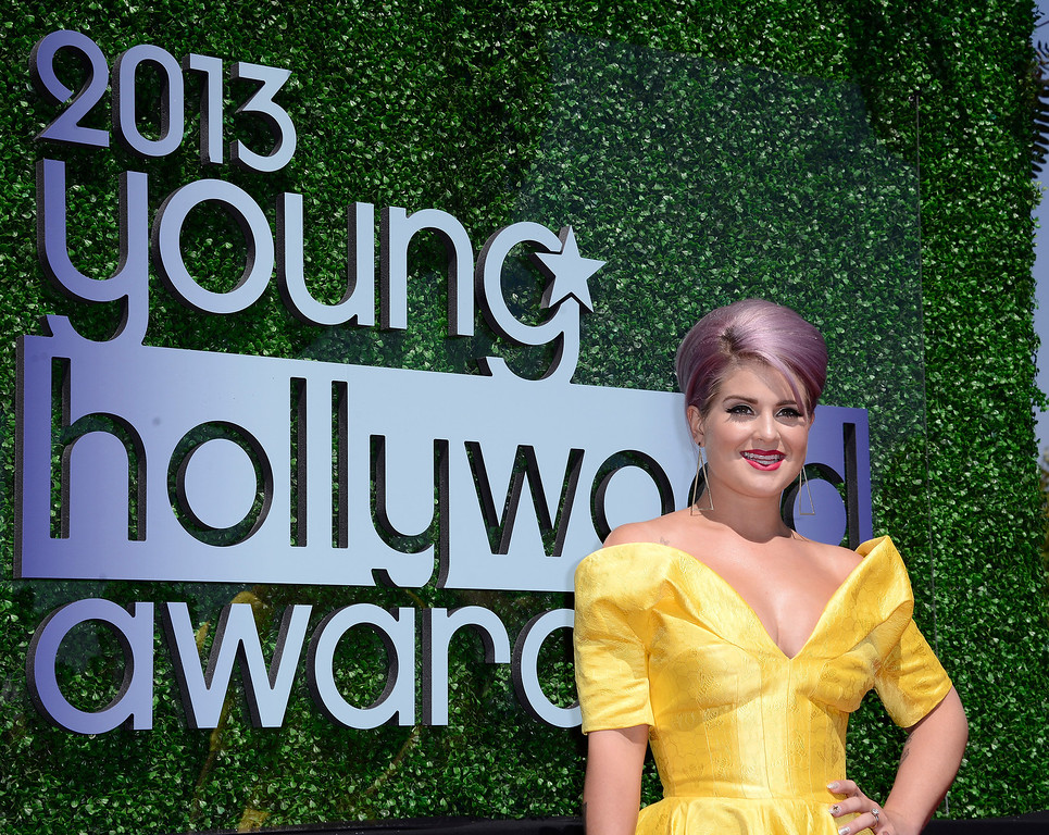 . Television personality Kelly Osbourne arrives at the 2013 Young Hollywood Awards at The Broad Stage on Thursday, August 1, 2013, in Santa Monica, Calif. (Photo by Dan Steinberg/Invision/AP)
