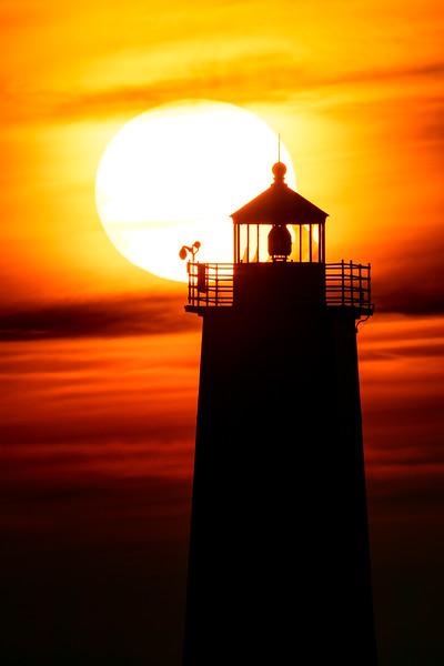 Frankfort Sunset
