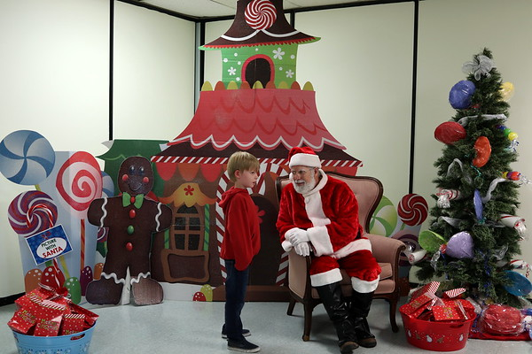 2018 Pictures with Santa
