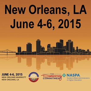 2015 ADP/TDC/NASPA Civic Learning & Democratic Engagement Meeting, New Orleans, LA, June 4 - 6, 2015