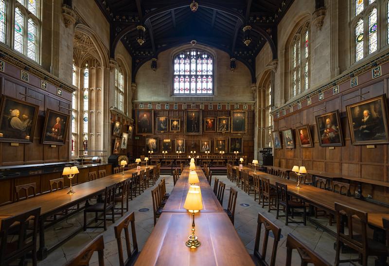 Great Hall, Christ Church, Oxford (Aug 2021)