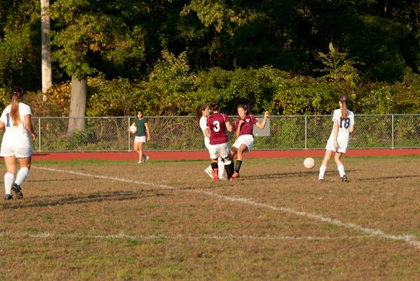 2012-10-05 Dayton Girls Varsity Soccer vs Roselle Park - Conf. Series #6 of 8