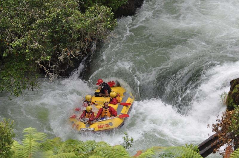 White Water Rafting on Kaituna River - New Zealand