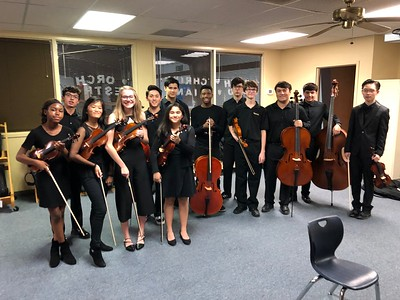 2018 Orchestra Christmas Concert