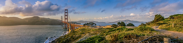 Golden Gate & Headlands Pano