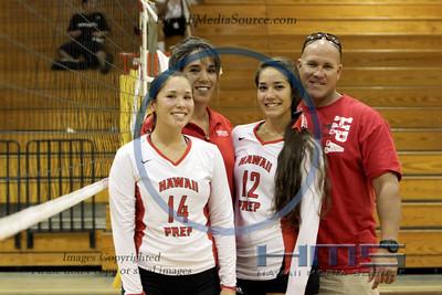 HPA Girls Volleyball - Kona 11-1-13