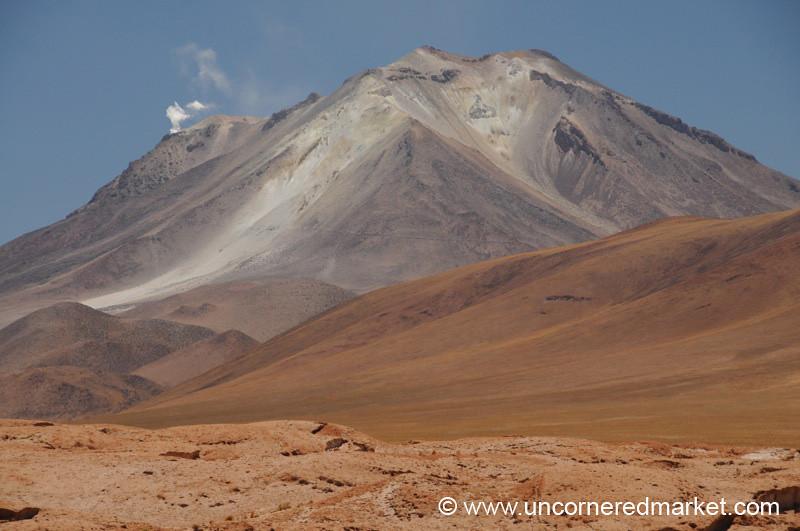Volcano Ollague - Salar Tour, Bolivia