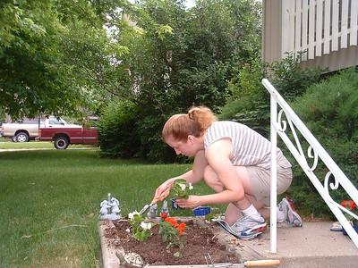Planting Flowers 2006