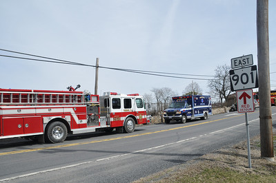 ROUTE 901 CASS TOWNSHIP VEHICLE ACCIDENT 4-4-2013 PICTURES BY COALREGIONFIRE