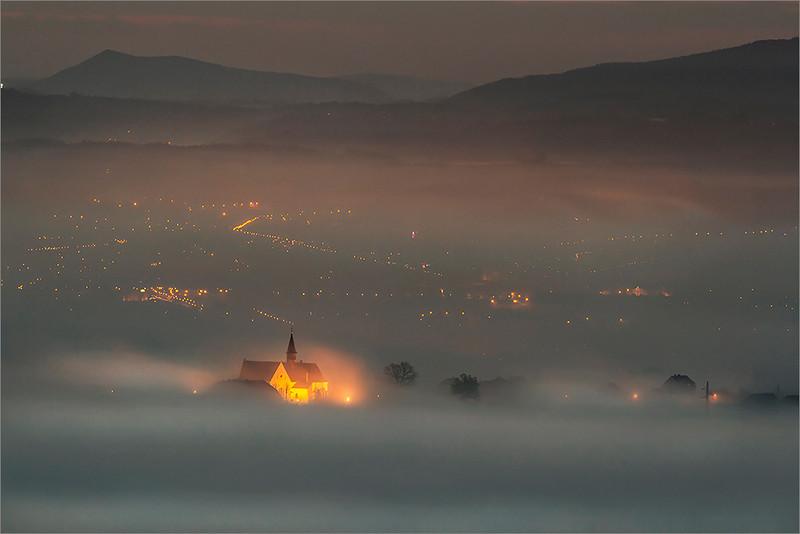 Nowy Sacz seen from Trzetrzewina I