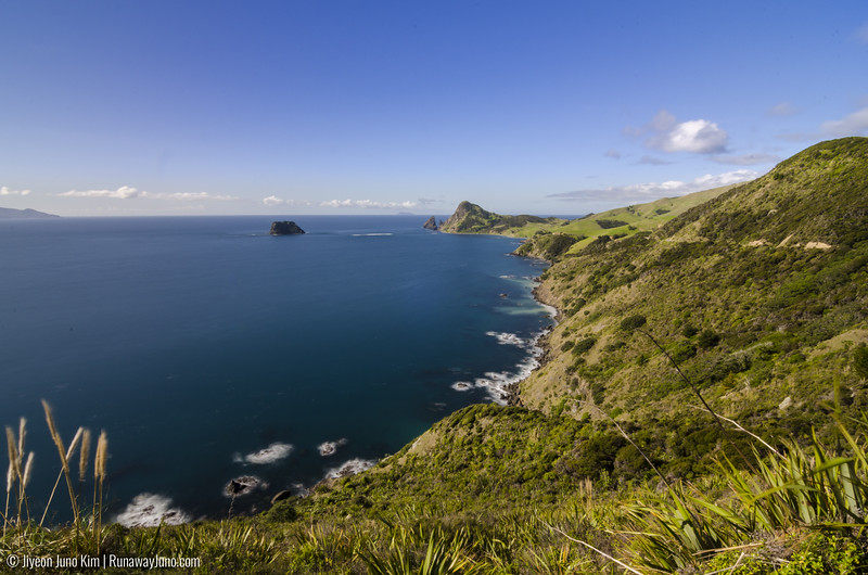 Looking at the very tip of Coromandel Peninsula
