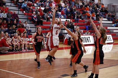 Girls JV Basketball - 12/4/2015 Ludington