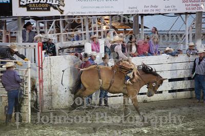 2014 Dayton Rodeo Saddle Bronc - Saturday
