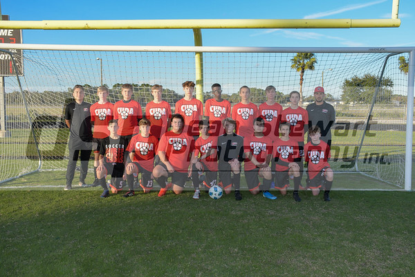 New Smyrna Beach Boys Soccer JV 1-7-20